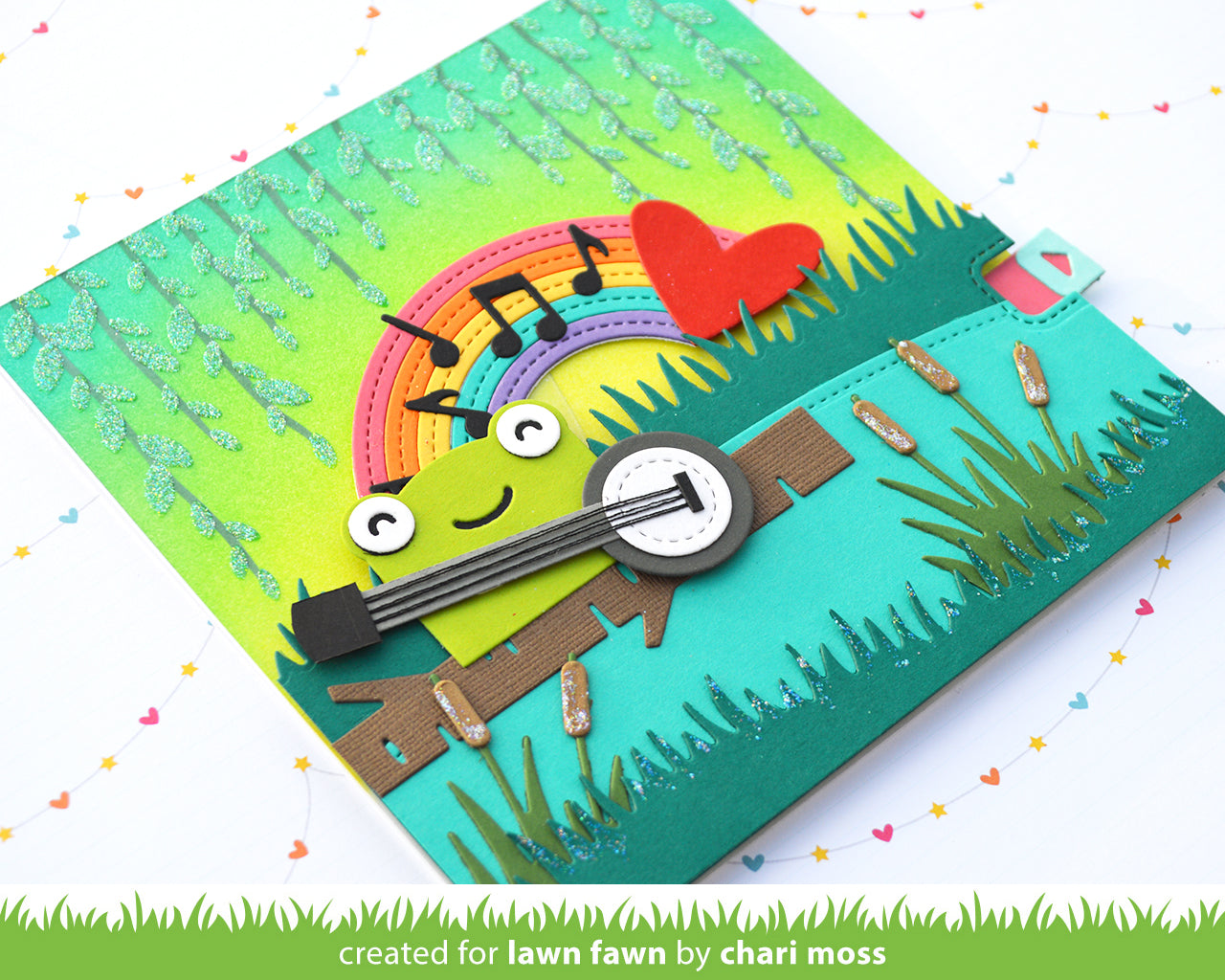 tiny gift box frog add-on