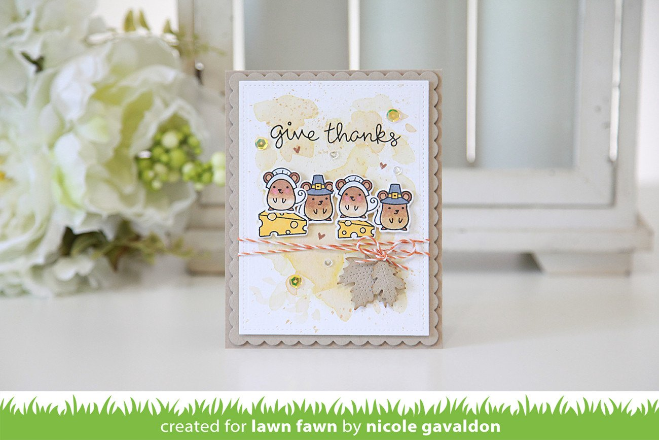 thankful mice