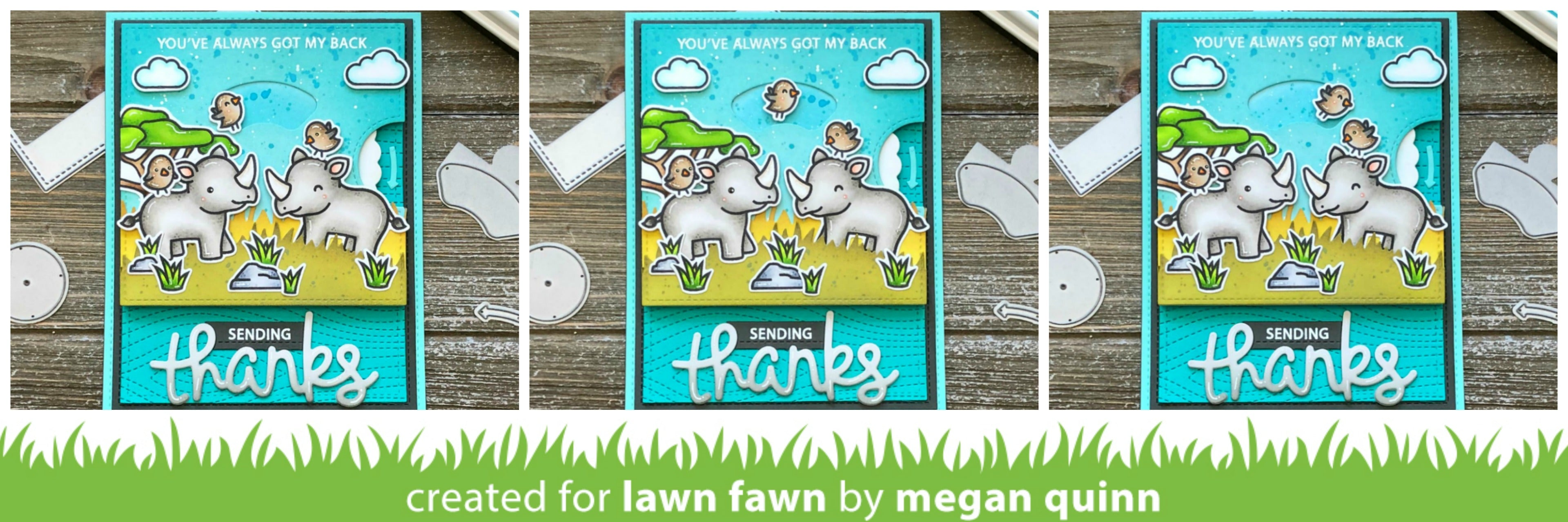 HA + Lawn Fawn Big Thanks