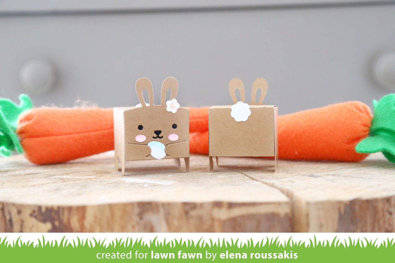 tiny gift box bunny add-on