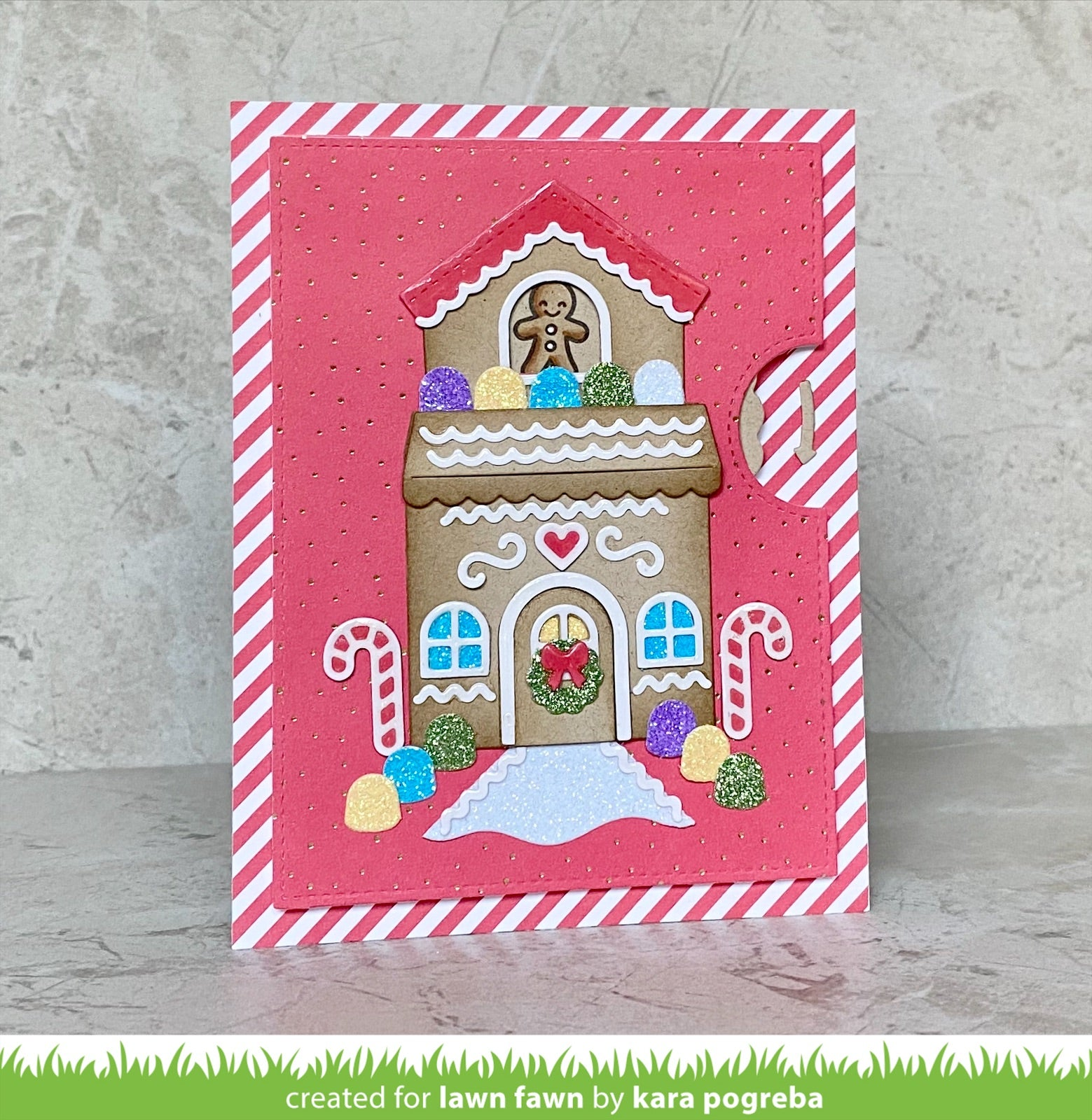build-a-house gingerbread add-on
