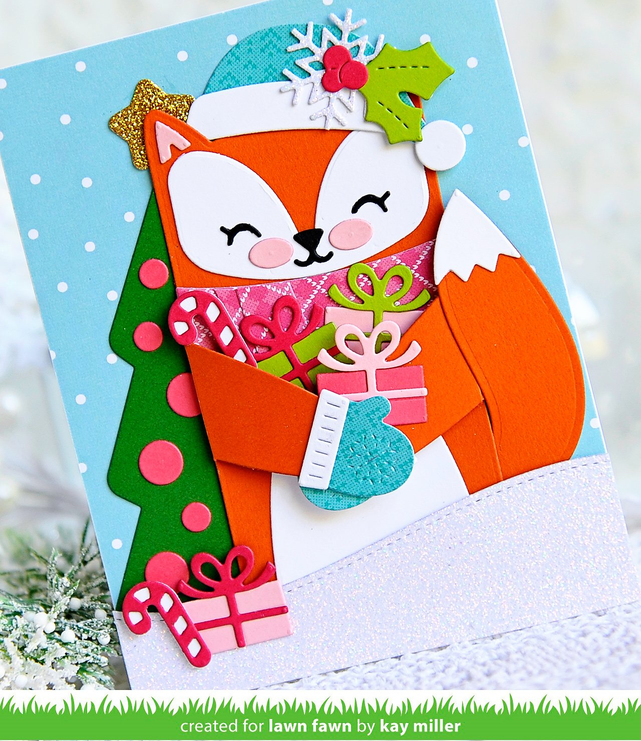 woodland critter huggers winter add-on