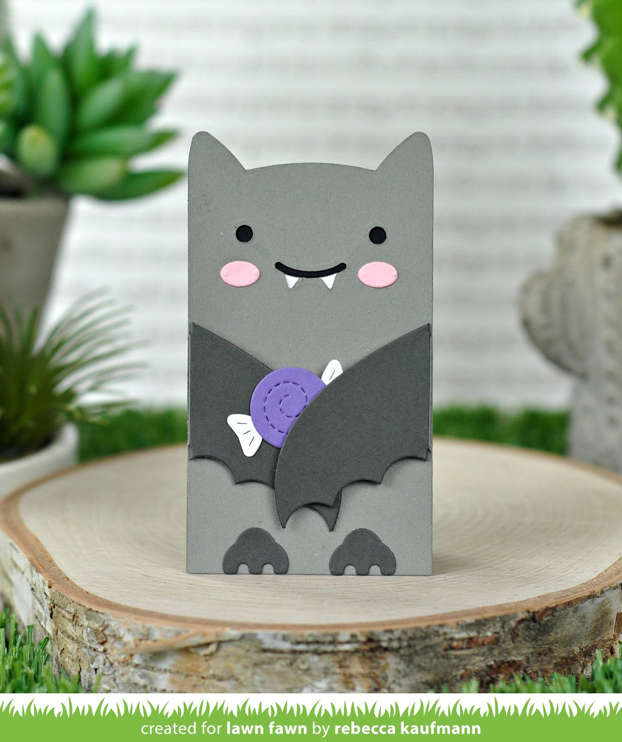 woodland critter huggers bat add-on