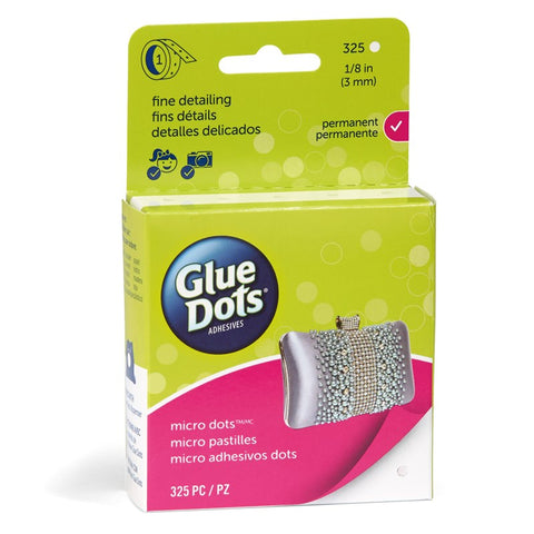 glue dots clear dot roll - micro