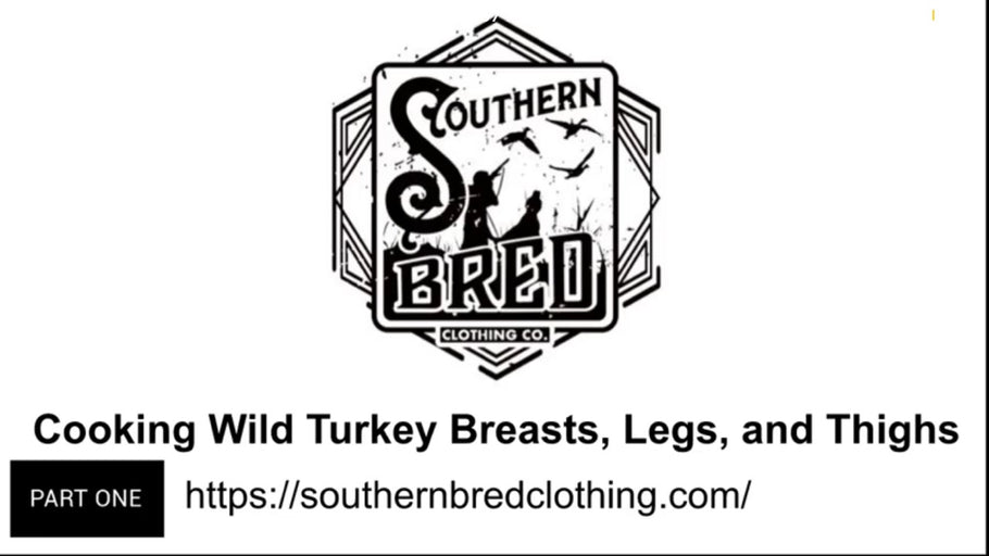 Cooking Wild Turkey Breasts, Legs, And Thighs WIth Southern Bred Adventures (Part 1)