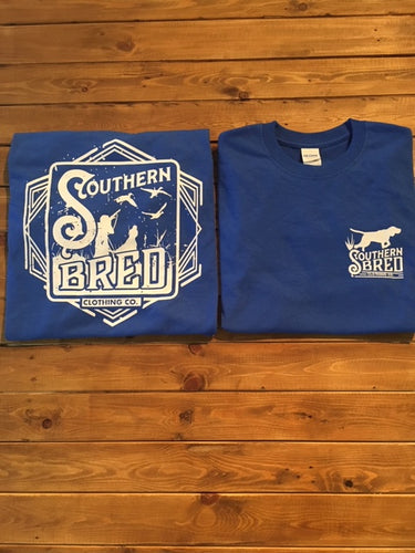 Blue Gun Dog T-Shirt