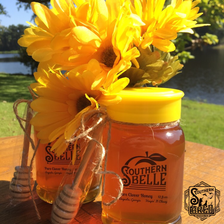 Southern Belle Clover Honey -12 oz. (Free Shipping!)
