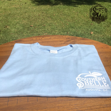 Load image into Gallery viewer, Powder Blue Southern Belle T-Shirt