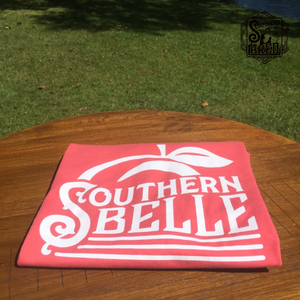 Red Coral Southern Belle T-Shirt
