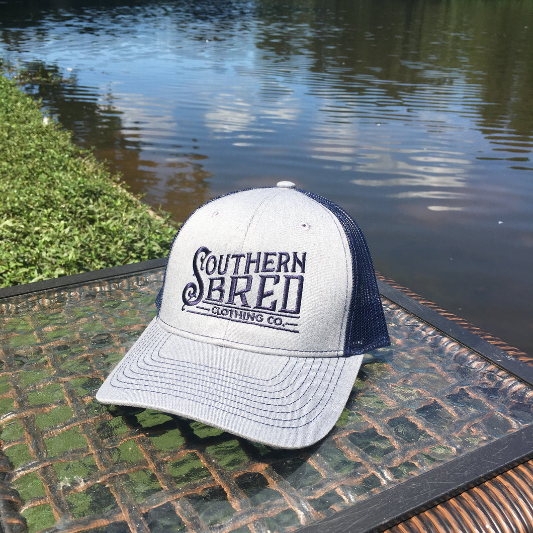 Southern Bred (Grey and Navy)