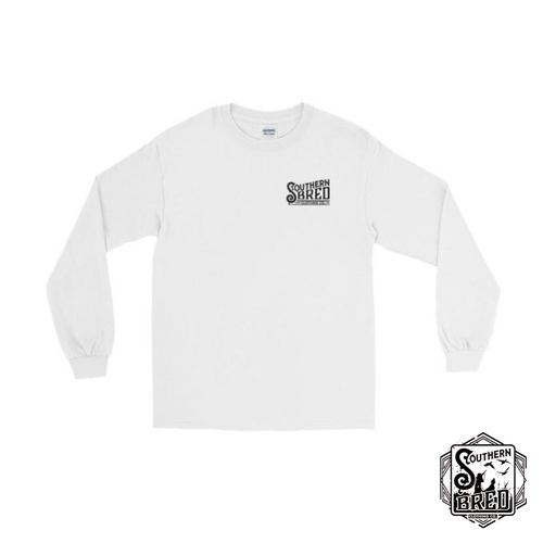 Southern Bred Long Sleeve Shirt (White)