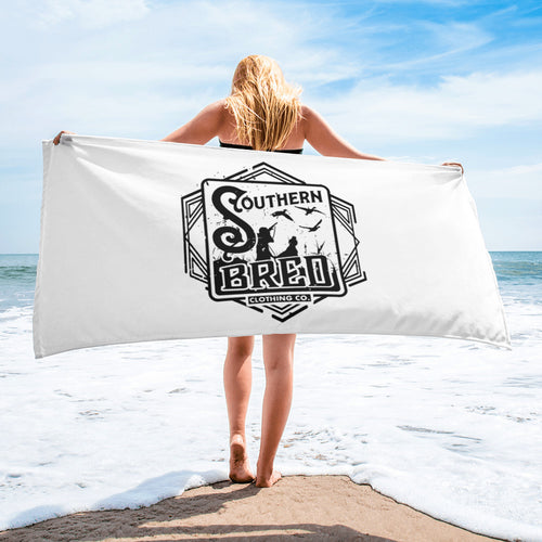 Southern Bred Beach Towel
