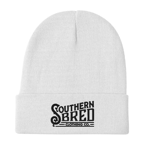 Southern Bred Beanie (White)