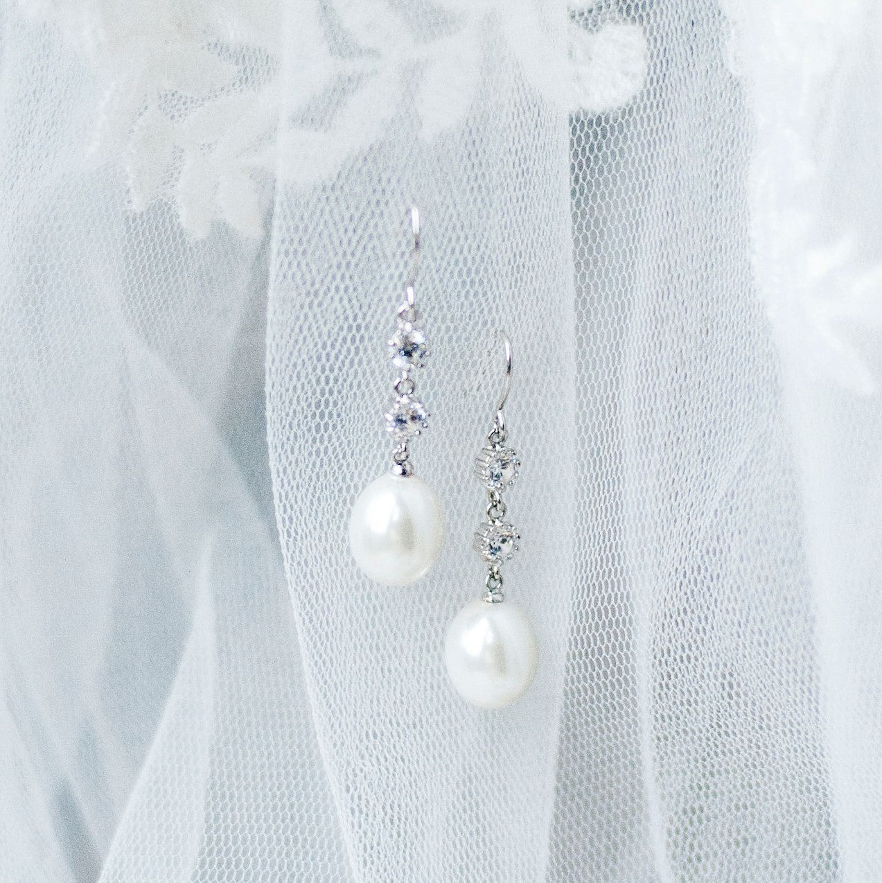 Dulcie Pearl Drop Earrings