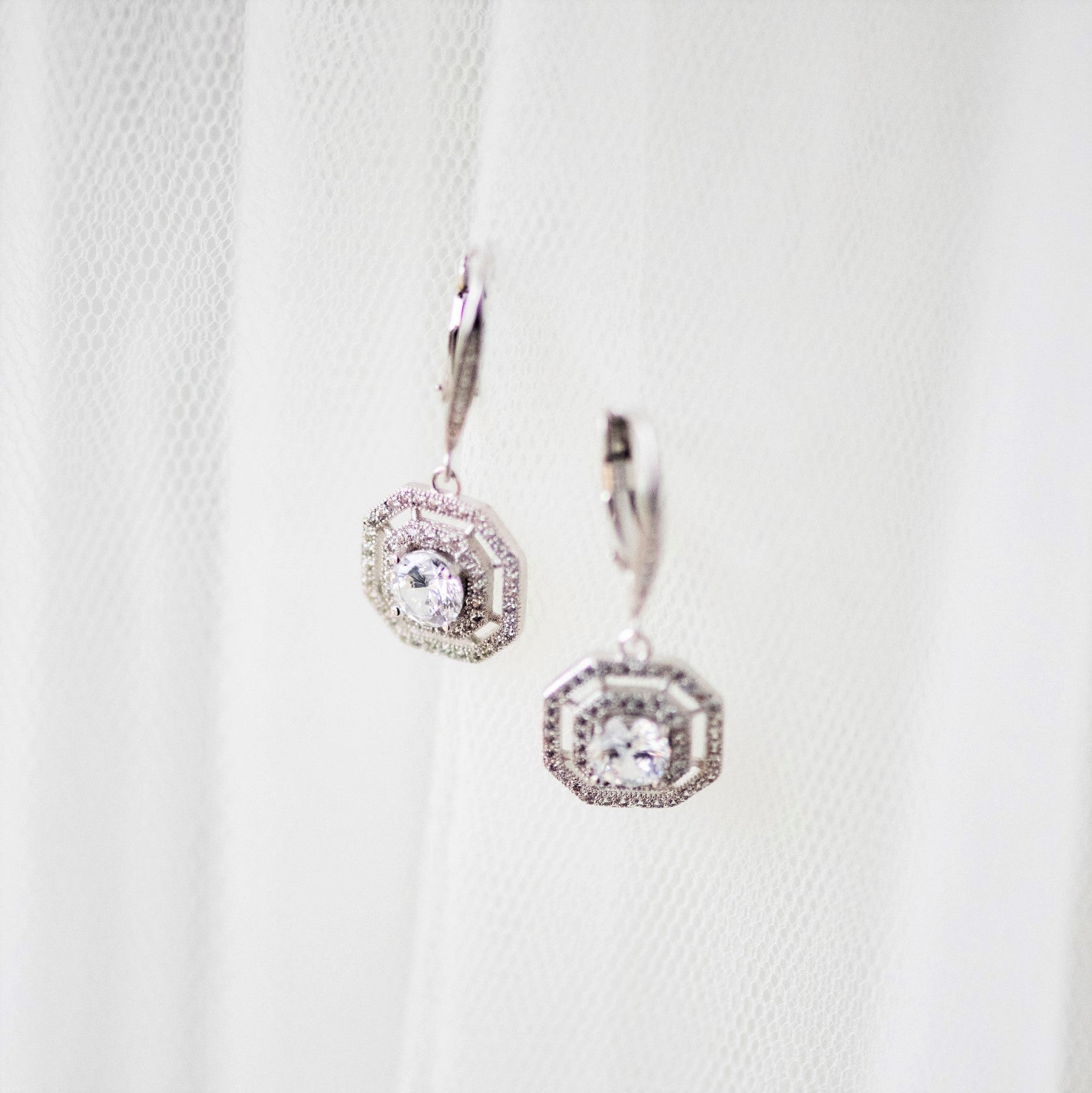 Elsie Art Deco Earring