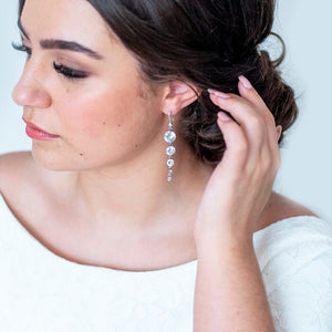Esmé Crystal Drop Earring