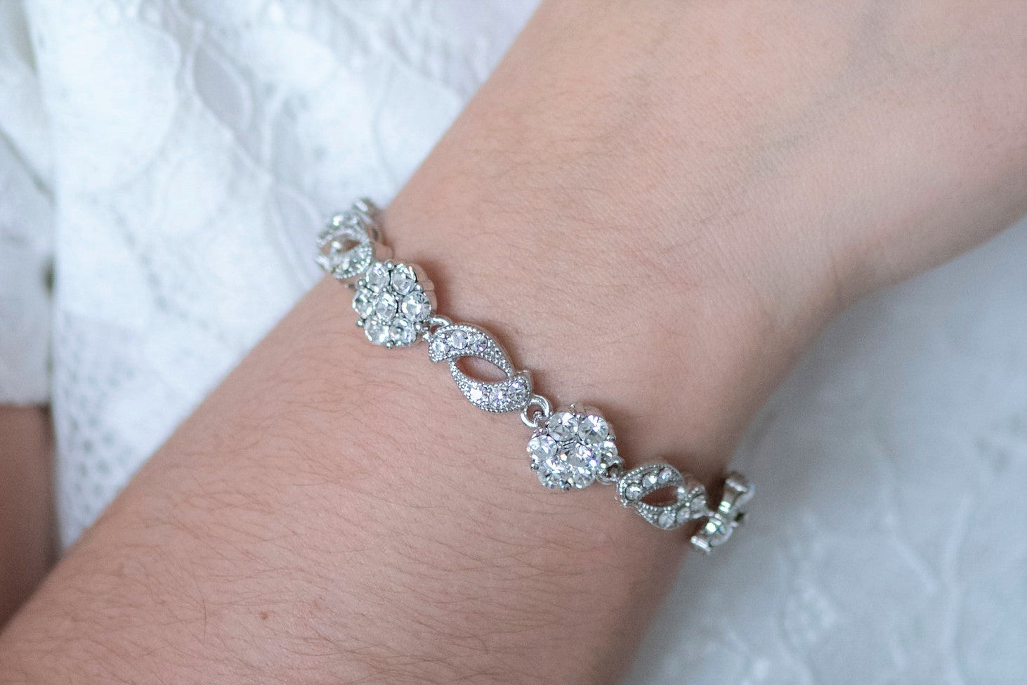 Verity Crystal Bracelet