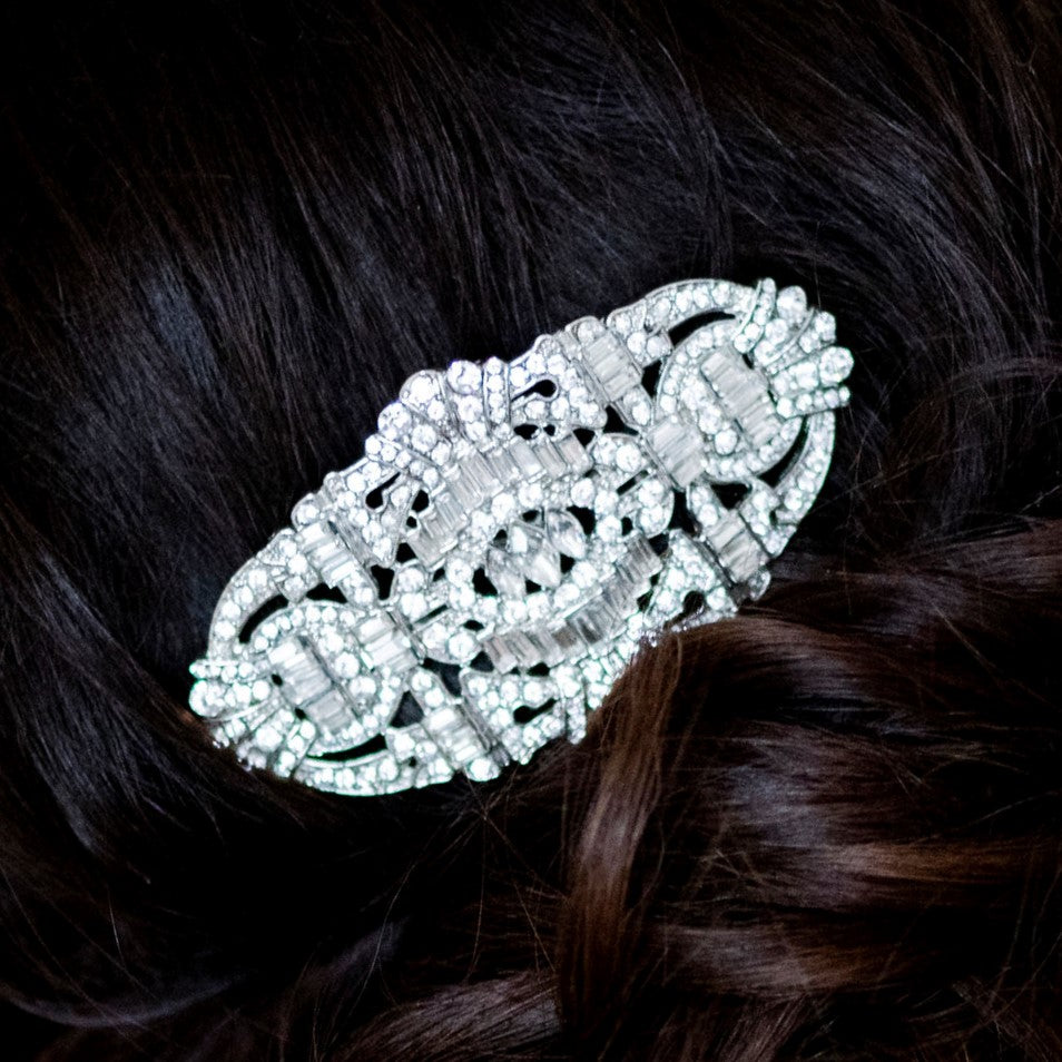 Desiree Crystal Hair Comb