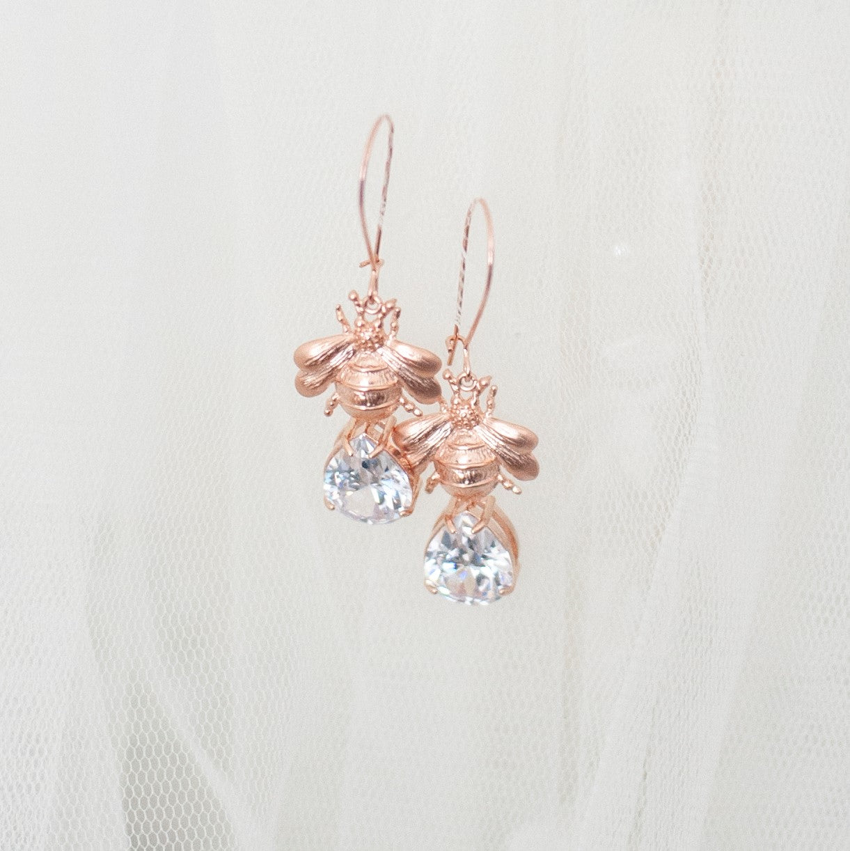 Bumble Crystal Earring