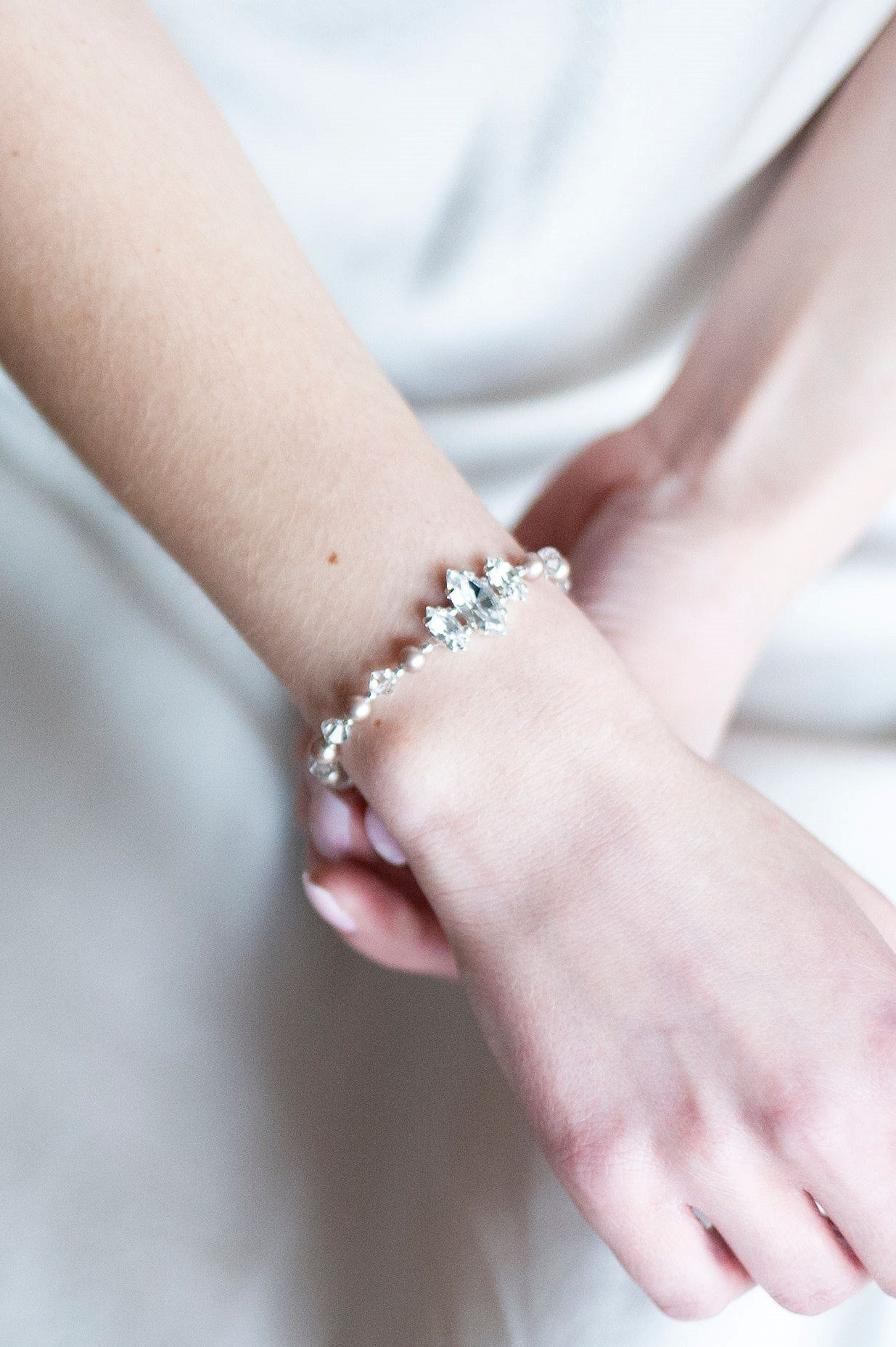 Ella Bracelet in Powdered Almond