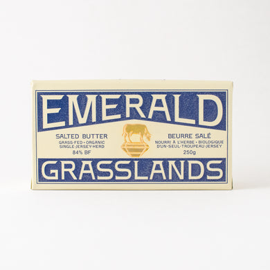 Emerald Grasslands Butter-454g-Salted