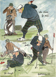 Putts For Dough  - golf art print by Mark Huskinson