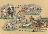 The SF, SF Story - horse racing art print by Mark Huskinson