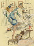 Equilibrium - horse racing art print by Mark Huskinson