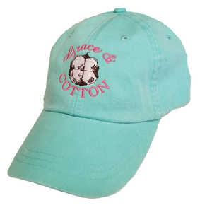 Grace & Cotton Logo Hat - Aqua - Grace and Cotton