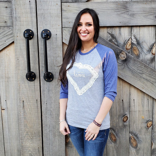 State of Lace - South Carolina Baseball Tee