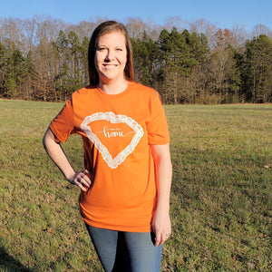 "State of Lace - SC ""Clemson"" Crew - Grace and Cotton"