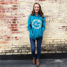 "Load image into Gallery viewer, ""Consider the Wildflowers""  Hoody - 2 colors - Grace and Cotton"