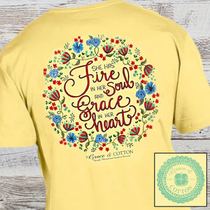 """Fire and Grace"" - Butter - Grace and Cotton"