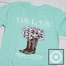 "Load image into Gallery viewer, ""Walk by Faith"" - 2 Colors - Grace and Cotton"