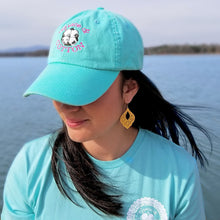 Load image into Gallery viewer, Grace & Cotton Logo Hat - Aqua - Grace and Cotton