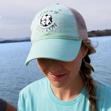 Load image into Gallery viewer, Island Reef/Ivory Trucker Hat - Grace and Cotton