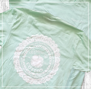 Grace & Cotton Lace Logo - Multiple Colors - Grace and Cotton