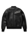 Black By Goose Country MA-1: Black Leather