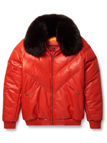 Goose Country V-Bomber Two-Tone: Red/White/Blue