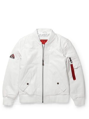 Men's Flight White Jacket