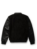 Men's Moto Flight Black Jacket