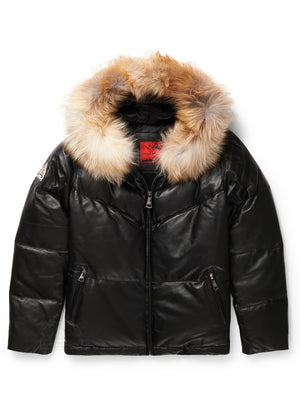 Women's Pearl Bubble Jacket Black
