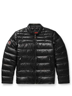 Men's Bubble Racer Jacket Black
