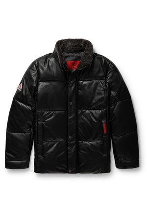 Men's Steven Bubble Jacket Black
