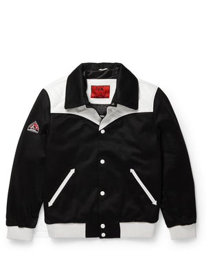 Men's Urban Varsity Black/White