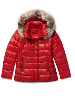 Women's Lucy Bubble Jacket Red