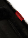 Mens 3/4 Quarter Marlboro Sheepskin Shearling Jacket Black