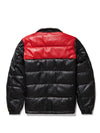 Men's Nile Bubble Black/Red Jacket