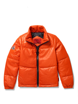 Women's Sophia Bubble Jacket Orange
