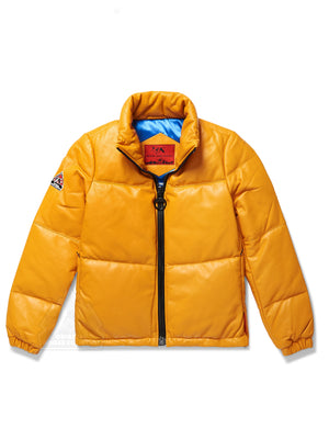Women's Sophia Bubble Jacket Yellow